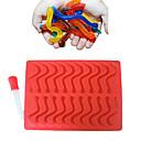 hesapli Temizlik Malzemeleri-Bakeware araçları Silikon Çevre-dostu / Yapışmaz / Kendin-Yap Kurabiye / Çikolota / Buz Hayvan Pişirme Kalıp 1pc
