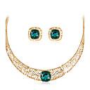 preiswerte Halsketten-Damen Schmuck-Set - Modisch, Euramerican Einschließen Halskette Gold Für Hochzeit / Party / Besondere Anlässe