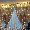 hesapli LED Şerit Işıklar-3M Dizili Işıklar 240 LED'ler EL Sıcak Beyaz / Beyaz Parti / Düğün / Noel Düğün Dekorasyonu 220-240 V / 110-120 V 1set / IP44