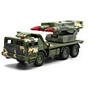 ieftine Bijuterii de Păr-Vehicul Militar Vehicul cu rachete Toy Trucks & Vehicule de constructii Jucării pentru mașini Model Mașină Muzică și lumină Pentru copii Unisex Băieți Fete Jucarii Cadou