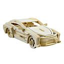 رخيصةأون خواتم-لعبة سيارات قطع تركيب3D تركيب سيارة حصان اصنع بنفسك محاكاة خشب للجنسين ألعاب هدية