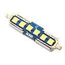 hesapli AC Adaptör ve Güç Kabloları-SO.K 4adet T11 Araba Ampul 2 W SMD 3030 250 lm LED İç Işıklar