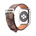 tanie Oświetlenie od góry-Watch Band na Apple Watch Series 4/3/2/1 Jabłko Klasyczna klamra Prawdziwa skóra Opaska na nadgarstek