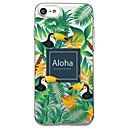 hesapli iPhone Kılıfları-Pouzdro Uyumluluk Apple iPhone X iPhone 8 Şeffaf Temalı Arka Kapak Kelime / Cümle ağaç Hayvan Yumuşak TPU için iPhone X iPhone 8 Plus