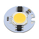 cheap LED Bi-pin Lights-5W COB Led Light COB Chip 220v Smart IC for DIY Downlight Spot Light Ceiling Lightg Warm/Cool White (1 Piece)