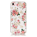 cheap iPhone Cases-EFORCASE Case For iPhone 5 / Apple IMD / Pattern Back Cover Flower Soft TPU for iPhone SE / 5s / iPhone 5