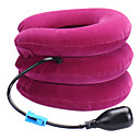 cheap Travel Comfort-Head & Neck Neck Massager Manual Neck traction device Air Pressure Inflated Relieve neck and shoulder pain Neck Support Portable
