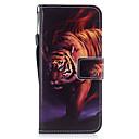 economico Custodie / cover per Galaxy serie Tab-Custodia Per Samsung Galaxy S8 Plus / S8 A portafoglio / Porta-carte di credito / Con supporto Integrale Animali Resistente pelle sintetica per S8 Plus / S8 / S7 edge