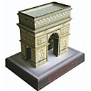 Недорогие Прочие светодиодные лампы-3D пазлы Бумажная модель Знаменитое здание Своими руками Плотная бумага Детские Универсальные Подарок