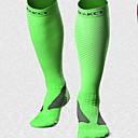 رخيصةأون ساعات الرجال-جوارب اللياقة البدنية، والجري واليوغا الرياضة من أجل ركض 1 قطعة رياضات كل الفصول بسيط قطن نايلون أسود لون نرجسي أخضر / قابل للبسط