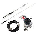 hesapli Akkor Ampuller-Mobil amatör radyo anteni elmas anten u / vmetal otomobil anten tutucu elmas k-335m anten kablosunu monte