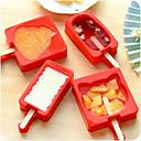 hesapli Fırın Araçları ve Gereçleri-Bakeware araçları Silikon Pişirme Aracı Ice için / Dondurma için Pişirme ve Pastacılık Araçları