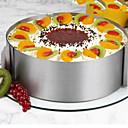hesapli Makyaj ve Tırnak Bakımı-Bakeware araçları Paslanmaz Çelik / Sentetik / Çelik Çok-fonksiyonlu / Yapışmaz / Pişirme Aracı Pişirme Kaplar İçin / Pasta Yuvarlak Pasta Kalıpları 1pc