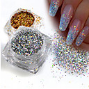 cheap Makeup & Nail Care-1 pcs Sequins / Glitter Powder Elegant & Luxurious / Sparkle & Shine / Nail Glitter Nail Art Design