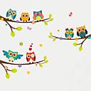 رخيصةأون ملصقات ديكور-حيوانات أزياء النباتية ملصقات الحائط لواصق حائط الطائرة لواصق حائط مزخرفة لواصق المرتفعات, بلاستيك تصميم ديكور المنزل جدار مائي جدار