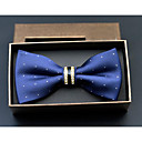 cheap Men's Bow Ties-Men's Polyester Bow Tie - Dots