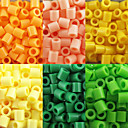 cheap Beads & Beading-DIY Jewelry 500 pcs Beads EVA Cylinder Bead 0.5 cm DIY Necklace Bracelet