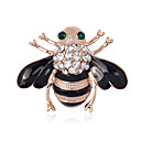 cheap Brooches-Women's Brooches - Crystal, Imitation Diamond Bee, Animal Personalized, Luxury, Classic Brooch Assorted Color For Christmas / Wedding / Party