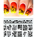 Недорогие Косметика и уход за ногтями-1 pcs Other шаблон Мода Повседневные