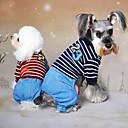 hesapli Bilezikler-Köpek Tulumlar Köpek Giyimi Kotlar Gri / Kırmzı / Mavi Pamuk Kostüm Evcil hayvanlar için Erkek / Kadın's Kovboy / Moda