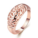 cheap Earrings-Women's Band Ring - Rose Gold Plated, Alloy Personalized, Geometric, Fashion 6 / 7 / 8 Rose Gold For Wedding Gift Evening Party