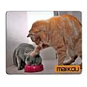 hesapli Ses ve Video Kabloları-Maikou mouse pad kedi giyer gözlük pc mat bilgisayar kaynağı aksesuar