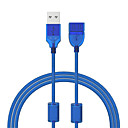 cheap USB Cables-Cwxuan USB 2.0 Extension Cable, USB 2.0 to USB 2.0 Extension Cable Male - Female 1.2m(4Ft) 480 Mbps
