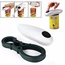 levne Kuchyňské náčiní a pomůcky-jednootáčkový automatický elektrický plechový otvírák na lahve&klíček na lahve bez ručního ovládání baterie