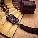 preiswerte Auto Aufkleber-Diy Automobil-Anhänger chinesischen Stil chinesischen Knoten Buddha Perlen Auto Anhänger&Ornaments holzig