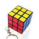 preiswerte Halsketten-Zauberwürfel Mini Glatte Geschwindigkeits-Würfel Magische Würfel Schlüsselanhänger Puzzle-Würfel Glatte Aufkleber Kinder Erwachsene Spielzeuge Unisex Jungen Mädchen Geschenk