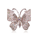 cheap Brooches-Women's Brooches - Butterfly, Animal Simple Style Brooch Jewelry Silver For Party / Daily