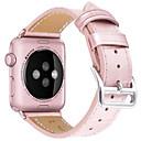 tanie Etui do iPhone-Watch Band na Apple Watch Series 4/3/2/1 Jabłko Klasyczna klamra Prawdziwa skóra Opaska na nadgarstek
