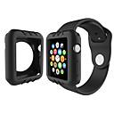 voordelige Apple Watch-hoesjes-voor appelwatch serie 1 kleurrijke siliconen horloge hoesje 38mm 42mm