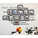 preiswerte Uhren-Mode Formen Worte & Zitate Wand-Sticker Flugzeug-Wand Sticker Dekorative Wand Sticker, Kunststoff Haus Dekoration Wandtattoo Wand Fenster