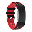 저렴한 Fitbit 밴드 시계-시계 밴드 용 Fitbit Charge 2 핏빗 스포츠 밴드 모던 버클 실리콘 손목 스트랩