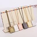 voordelige Haarsieraden-Medaillons ketting / Hangers - Verzilverd Medaillon Hanger Zilver / Bronzen / Lichtbruin Voor Dagelijks gebruik / Causaal