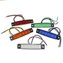 preiswerte Magnetpuppen-SENCART 1 Stück LKW Leuchtbirnen 1.5W SMD LED- 120lm 6 Außenleuchten For Universal Alle Jahre