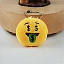 hesapli Anahtarlıklar-Anahtarlık Mücevher Sarı Other Dairesel Tasarım Çok güzel Unisex