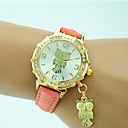 cheap Brooches-Women's Wrist Watch Quartz Rhinestone Leather Band Analog Casual Fashion Black / White / Blue - Pink Golden Light Green One Year Battery Life / Tianqiu 377