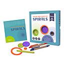 preiswerte Puzzles-Spirograph Bildungsspielsachen Blumen Spaß Kinder Jungen Mädchen Spielzeuge Geschenk 1 pcs