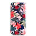 hesapli iPhone Kılıfları-Pouzdro Uyumluluk Apple iPhone X / iPhone 8 / iPhone 8 Plus Ultra İnce / Şeffaf / Temalı Arka Kapak Çiçek Yumuşak TPU için iPhone X /