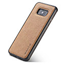 abordables Interrupteurs-Coque Pour Samsung Galaxy S8 Plus S8 Magnétique Coque Couleur unie Dur PC pour S8 Plus S8 S7 edge
