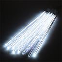 hesapli LED Şerit Işıklar-Hkv® su geçirmez 30 cm 8 tüp tatil meteor yağmuru yağmur led dize ışıkları kapalı açık bahçeler için noel christimas parti dekor ağacı