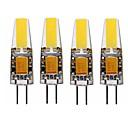abordables LED à Double Broches-SENCART 4pcs 4W 3000-3500/6000-6500lm G4 Ampoules Maïs LED T 1 Perles LED LED Intégrée Imperméable / Décorative Blanc Chaud / Blanc Froid