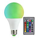Недорогие Светодиоды-1шт 10 W 800 lm E26 / E27 Умная LED лампа А80 6 Светодиодные бусины SMD 5050 Диммируемая / На пульте управления / Декоративная RGBW