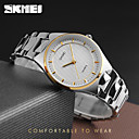cheap Women's Watches-SKMEI Women's Wrist Watch Quartz 30 m Water Resistant / Water Proof Cool Stainless Steel Band Analog Charm Luxury Casual Silver - Gold Silver Rose Gold