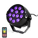 baratos Luzes LED de Cenário-U'King 12 W 12 Contas LED Luz de LED para Cenários Roxa 100-240 V / RoHs / CE / FCC
