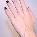 povoljno Modne ogrlice-Žene Gipke i čvrste narukvice Narukvice kolutovi Robovi zlata Bikini Legura Narukvica Nakit Zlato / Pink Za Party Dnevno