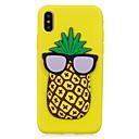 baratos Capinhas para iPhone-Capinha Para Apple iPhone X / iPhone 8 Estampada / Faça Você Mesmo Capa traseira Desenhos 3D / Fruta Macia TPU para iPhone X / iPhone 8 Plus / iPhone 8