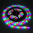 hesapli RGB Şerit Işıklar-5m RGB Şerit Işıklar 300 LED'ler 3528 SMD RGB Kesilebilir / Kendinden Yapışkanlı / Renk Değiştiren 5 V 1pc
